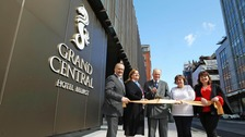 Belfast's Grand Central Hotel opens for business