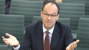 Sainsbury's chief executive Mike Coupe was grilled by MPs.