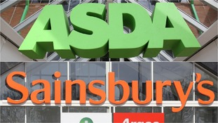The two supermarkets are set to join forces in a £12 billion merger.