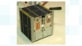 An image of the cubesat