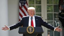 We want to keep migrant families together, says Trump