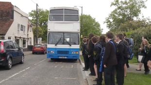 Pupils in Suffolk may soon need to pay to get a bus to school.