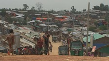 Deadly monsoon rains threaten Rohingya in makeshift camps