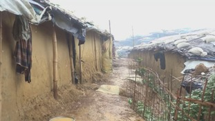 The heavy rains caused mudslides, which destroyed homes.