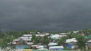 It is feared another three metres of rain could be dumped on the camp.