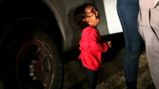 Children held at detention centres