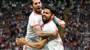 Costa's ricochetted goal enough for Spain against IR Iran