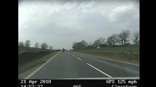 Motorcyclist led police on 'ridiculous' 125mph chase