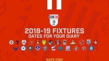 Sunderland League One fixture list for 2018/19 season