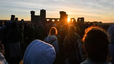 The summer solstice sunrise in pictures