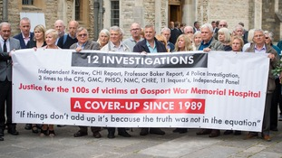 Members of the families of people who died at Gosport War Memorial Hospital have wanted justice for a long time.