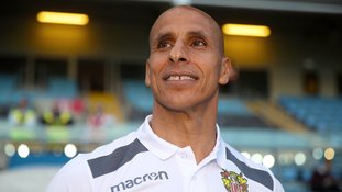 Dino Maamria is embarking on his first full season in charge of Stevenage.
