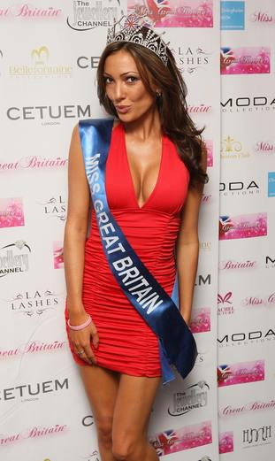 Sophie Gradon was once Miss Great Britain.