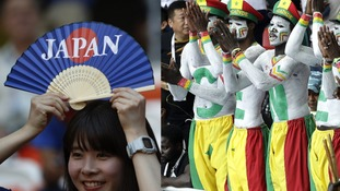 Japan and Senegal fans praised for tidying up rubbish at the World Cup