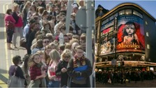 Hundreds of young hopefuls queue for part in Les Miserables