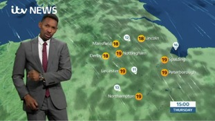East Midlands Weather and Pollen: Fine and dry, breezy on the coast