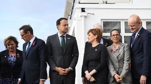 Leaders at last year's British Irish Council which Carwyn Jones didn't attend