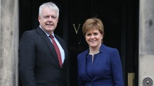 Jones and Sturgeon urge May to think again about customs union future for UK