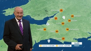 UK Weather Forecast: plenty of sunshine for after work drinks in the West Country