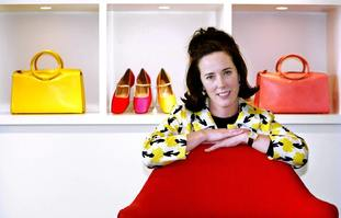 The late designer Kate Spade