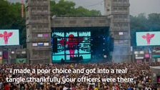 Remorseful festival-goer sends apology to police