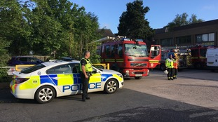 Severe fire breaks out at industrial unit