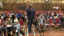 150 people attend meeting after teenager's death