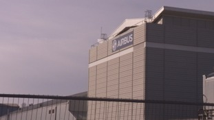 The Airbus base in Filton employs around 3000 people.