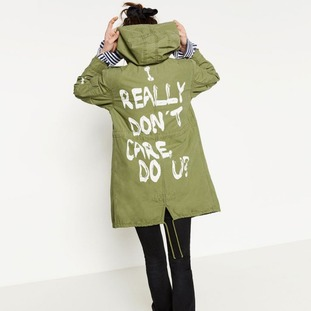 Melania Trump's jacket is from high street retailer Zara.