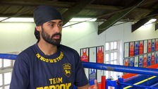 Sikh boxer hopes more can take up sport as beard ban ends