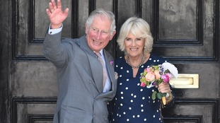 Prince Charles and Camilla meet poisoned policeman on visit to Salisbury