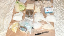 Two arrested in major seizure of class A drugs