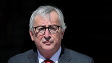 Jean-Claude Juncker meets Irish president in Dublin