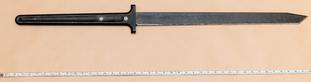 Mohiussunnath Chowdhury said his 42in ornamental Lord of the Rings-style sword was 'pretty cool'