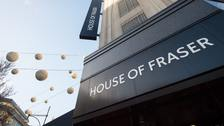 House of Fraser to close 31 stores costing 6,000 jobs