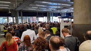 Continuing misery for passengers on Govia Thameslink