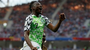 Musa scores two as Nigeria beat Iceland to boost chances of progressing