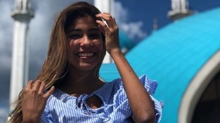 Julieth Gonzales Theran was groped while reporting in Saransk.