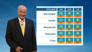 UK Weather Forecast: Sun filled weekend in the South West