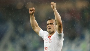 Switzerland mounted a second-half comeback to beat Serbia 2-1 and move second in Group E