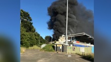 Institute Football Club stadium damaged by 'deliberate fire'