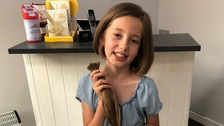 Jersey-girl has chop for charity