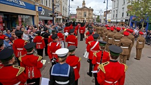 IN PICS: Coleraine Armed Forces Day