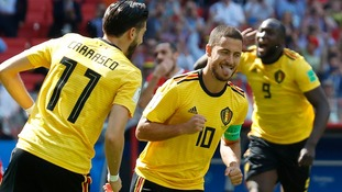 Belgium swept aside Tunisia with braces from Eden Hazard and Romelu Lukaku