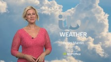 Cooling overnight but warm and sunny again on Sunday