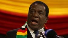 President of Zimbabwe Emmerson Mnangagwa