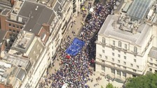 Thousands march in London to demand referendum on Brexit deal