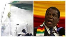 Zimbabwe's President Mnangagwa uninjured in 'assassination attempt' blast