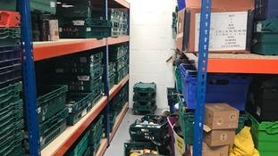 £3,000 of food & supplies stolen from Dorset foodbank
