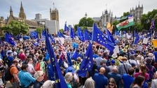 March organisers say 100,000 people attended the demonstration.